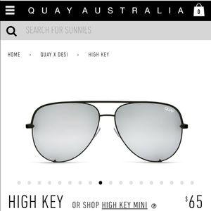 Quay Desi Perkins High Key in Black/Silver